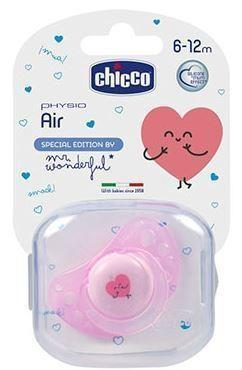 Chicco Chupete Physio Air Silicona 6-12 meses Mr. Wonderful - Imagen 2