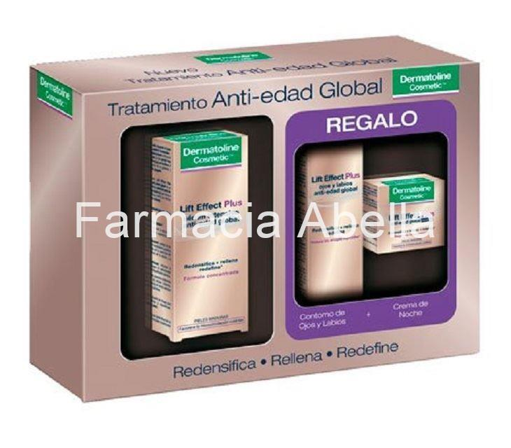 Dermatoline Lift Effect Plus serum intensivo anti-edad global + regalo Contorno y Crema noche - Imagen 1