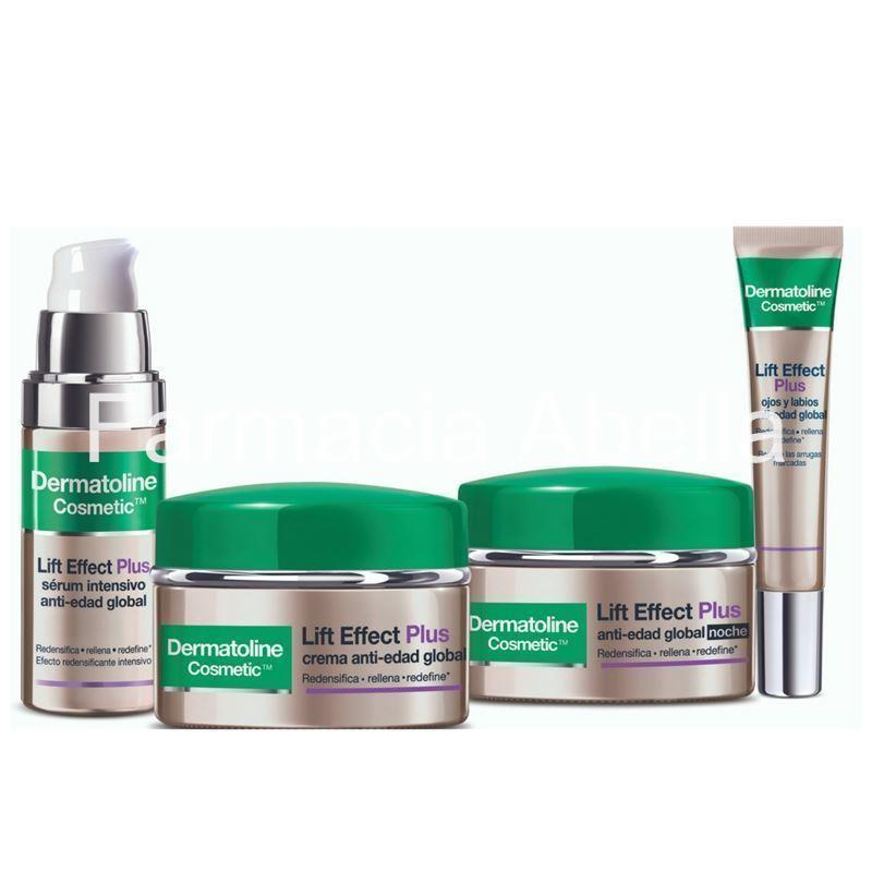 Dermatoline Lift Effect Plus serum intensivo anti-edad global + regalo Contorno y Crema noche - Imagen 2