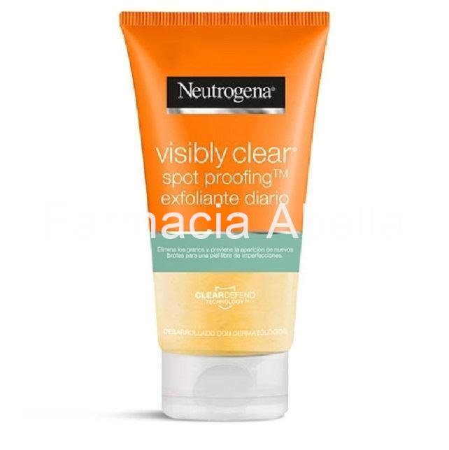 Neutrogena  Visibly Clear Spot Proofing Exfoliante Diario 150 Ml - Imagen 1