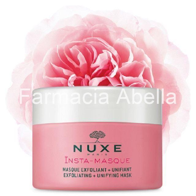 Nuxe Insta-masque mascarilla facial exfoliante uniformizante 50 ml - Imagen 1