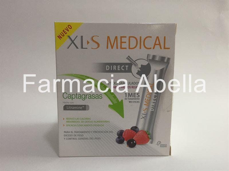 XL-S Medical Direct Captagrasas 90 Sticks - Imagen 1